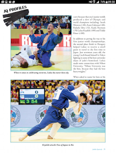 Judoka Quarterly- screenshot thumbnail