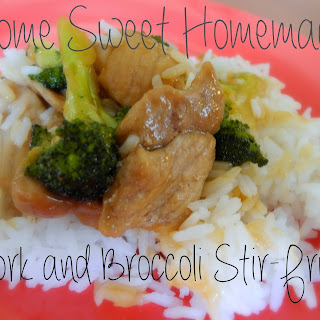 Pork with Broccoli Stir-Fry