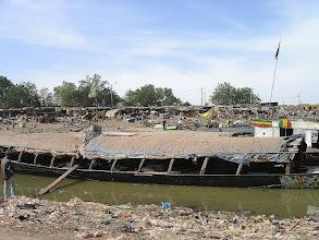 Photo: transport na rzece Niger