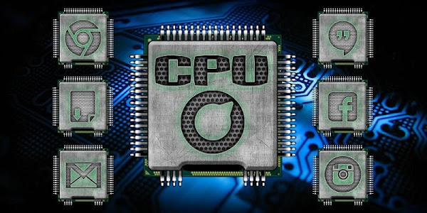 Neon CPU Solo Launcher Theme 5.0.1