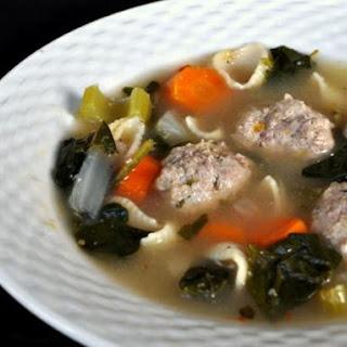 Italian Honeymoon Soup.