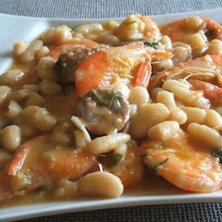 Seafood With White Beans