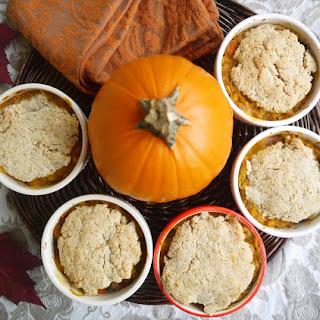 Pumpkin Chicken Pot Pie (paleo, GF)