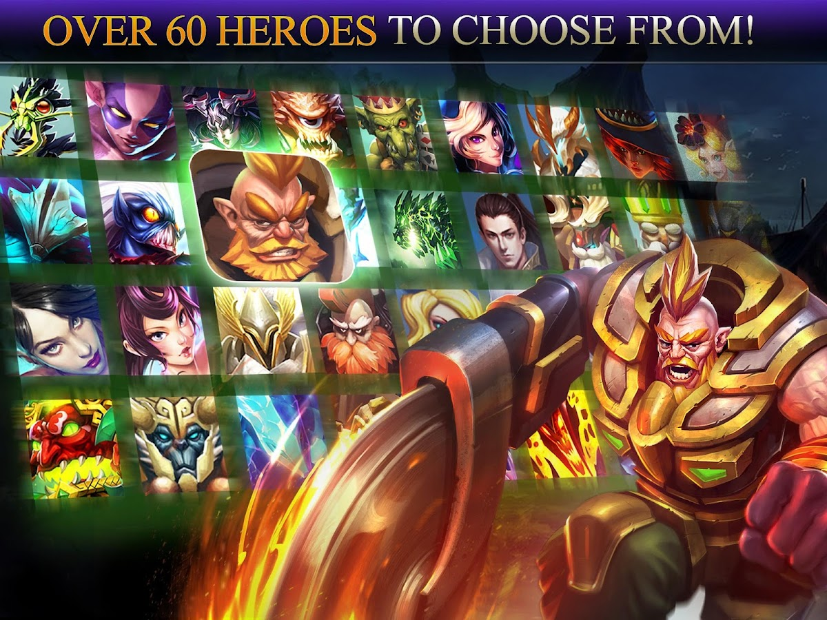 Screenshots of Heroes of Order & Chaos for iPhone