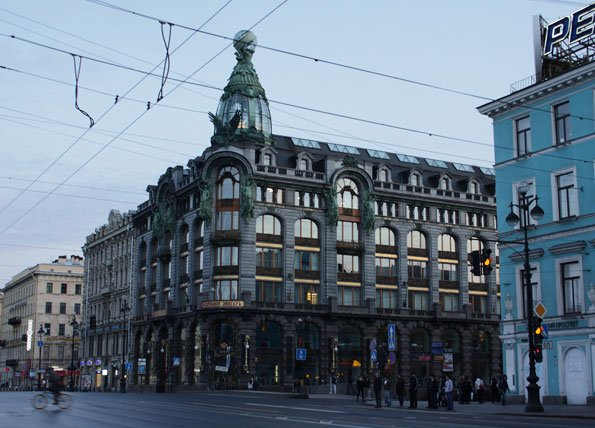 здание Зингер