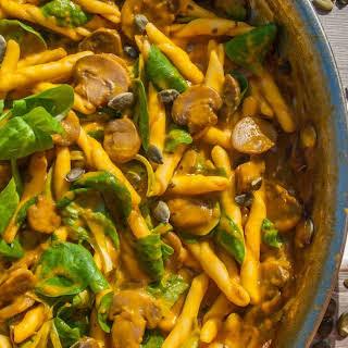 Pumpkin Mushroom Pasta Recipes.