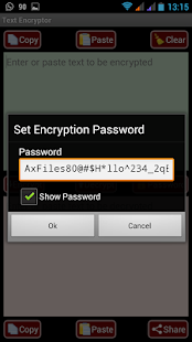 5 AES Message Encryptor for SMS App screenshot