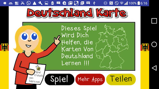 deutschland karte spiel apps on google play. Black Bedroom Furniture Sets. Home Design Ideas