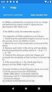 IBAN Check IBAN Validation - Apps on Google Play | FREE