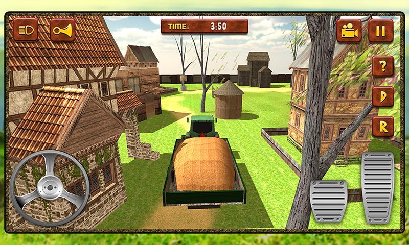 android Hay Farm Plow Truck Driver Screenshot 1