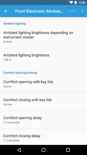 BimmerCode for BMW and Mini  screenshots 3