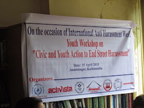 Photo: 4.15.15 youth workshop in Nepal