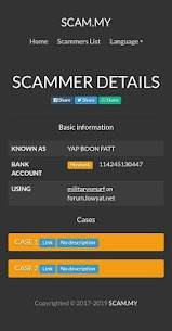 SCAM.MY – Check Scammers in Malaysia (Official) 4