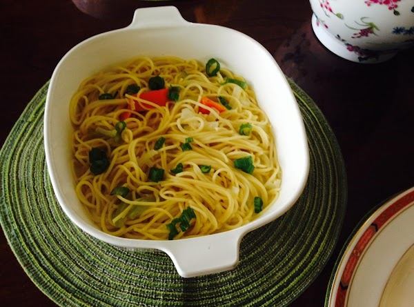 Angel Hair Pasta With Chicken And Spinach Recipe