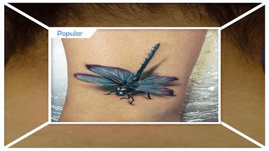 3D tetování návrhy nápady - náhled