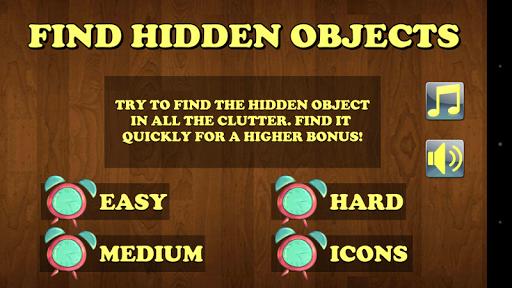 Find Hidden Objecs