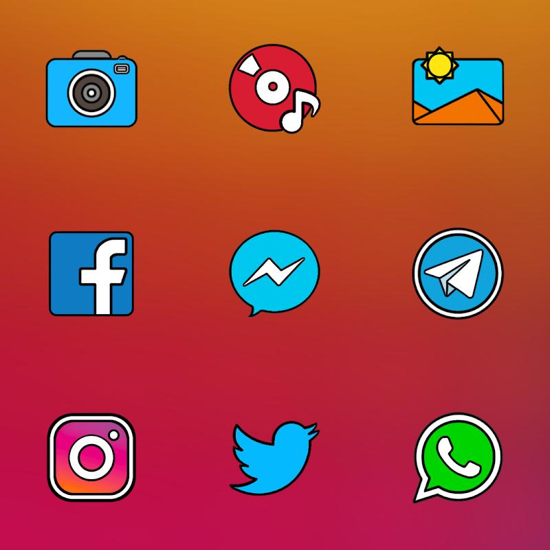 CRISPY HD - ICON PACK Screenshot 3