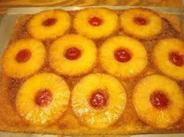 Easy Upside-down Cake Recipe
