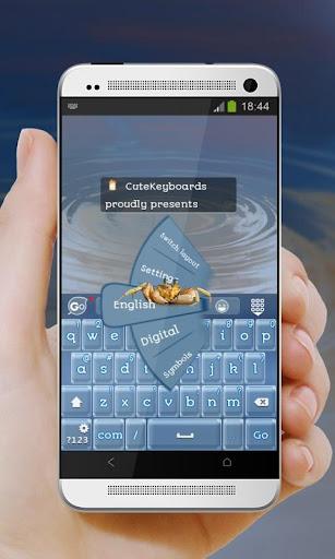 カニ GO Keyboard