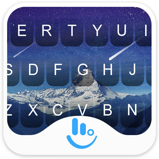 Blue 3D For S8 Keyboard Theme