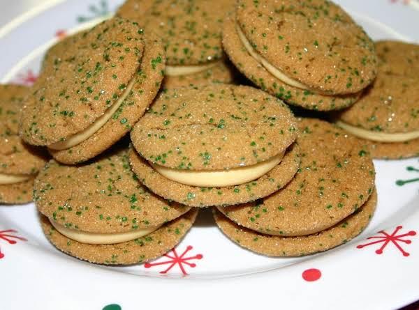 Spicy Molasses Mascarpone Sandwiches