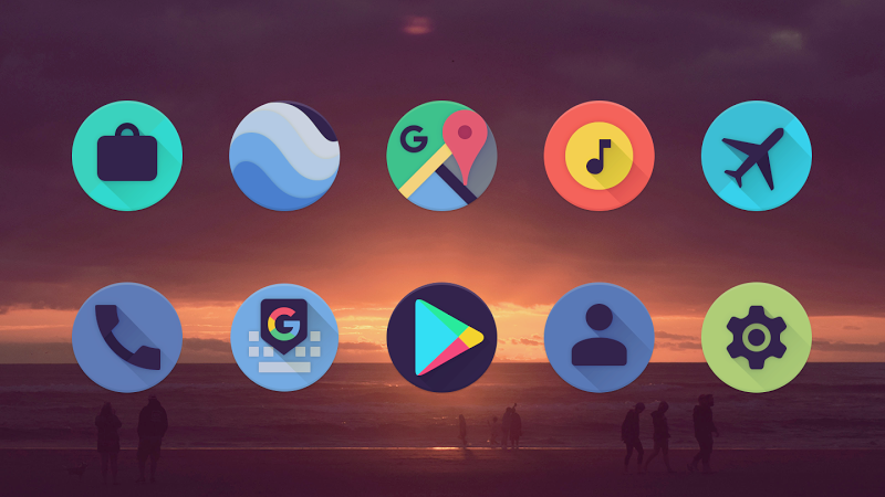 Viral – Free Icon Pack v2.1 [Unlocked]