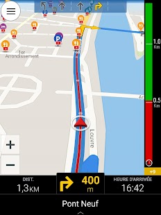 CoPilot GPS - Navigation Capture d'écran