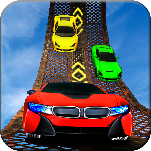 Sky Impossible Track Car Stunt icon