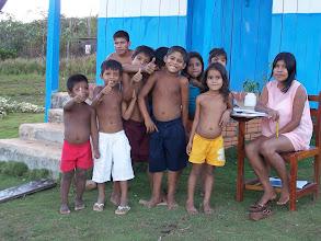 Photo: Índios Caripunas da Aldeia Aruña.