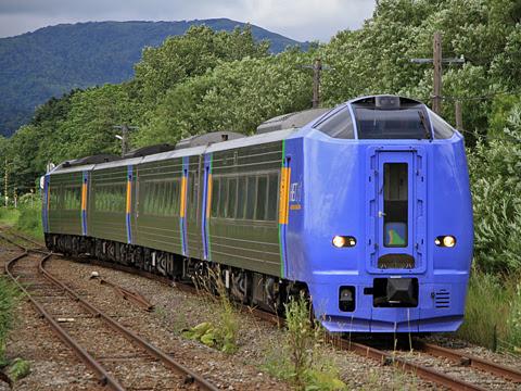 JR北海道 261系「サロベツ4号」 天塩中川にて