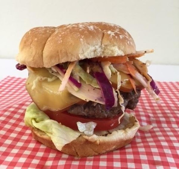 Slaw-tastic Smokey Cheeseburger Recipe
