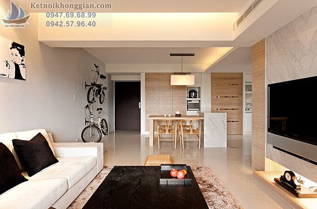 thiết kế nội thất căn hộ chung hộ