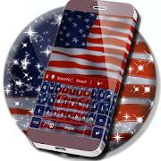App American Flag Keyboard Theme APK for Windows Phone