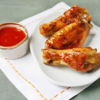 Spiced Honey-Glazed Chicken Wings.