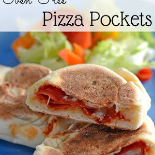 Skillet Pizza Pockets