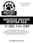 Uncle Bear's Holiday Hound Winter Ale