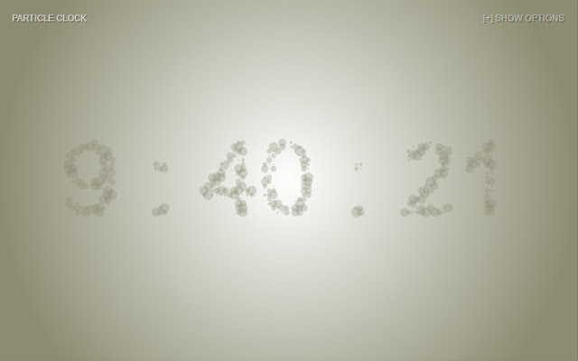 Particle Clock