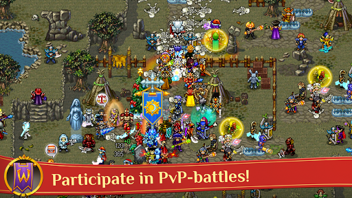 Warspear Online - Classic Pixel MMORPG (MMO, RPG) apkslow screenshots 3