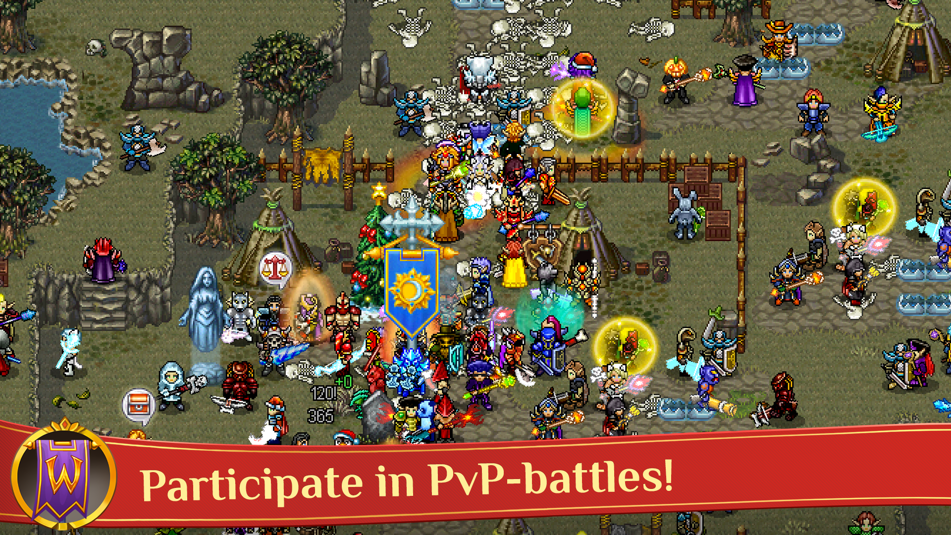 Warspear Online (MMORPG, RPG, MMO) screenshot #2