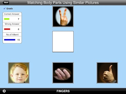 Matching Body PartsSimPic Lite- screenshot thumbnail