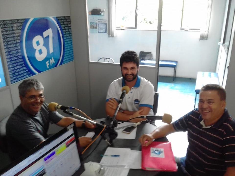 Donacio Silva, Murilo Charallo Galatte e Sergio Borges