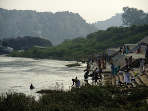 Photo: Another view of the ghat.