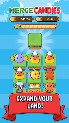 Merge Candy - Kawaii Idle Evolution Clicker Game 1.03 {cheat|hack|gameplay|apk mod|resources generator} 5