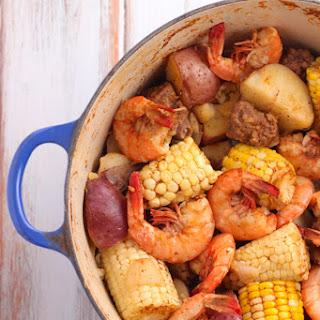 Old Bay Shrimp Boil.