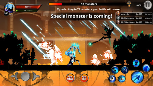 Stickman Legends: Shadow War Offline Fighting Game android2mod screenshots 4