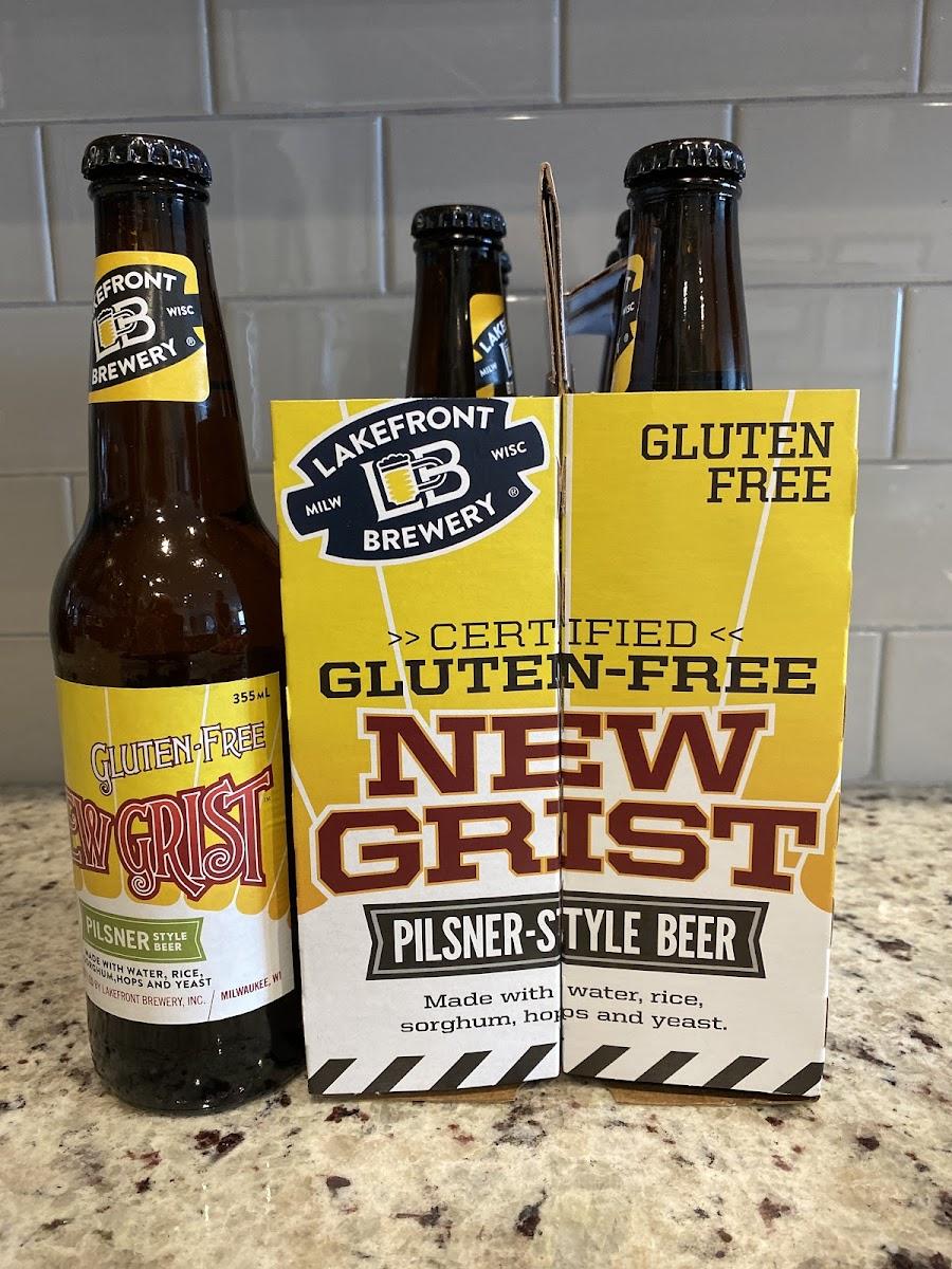 New Grist Pilsner Style Beer