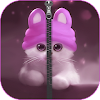 Kitty Zipper Lock Bildschirm APK