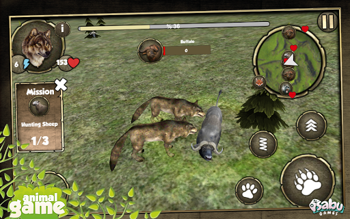 【免費模擬App】Wild Wolf Simulation-APP點子