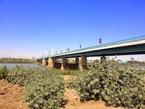Photo: Tuti Bridge over the Nile in Khartoum