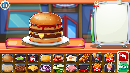 Burger Game - Restaurant Cooking - náhled